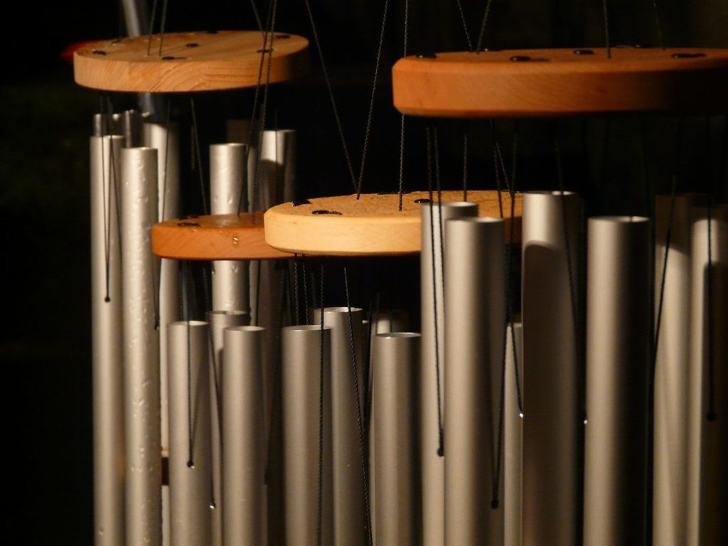memorial wind chime